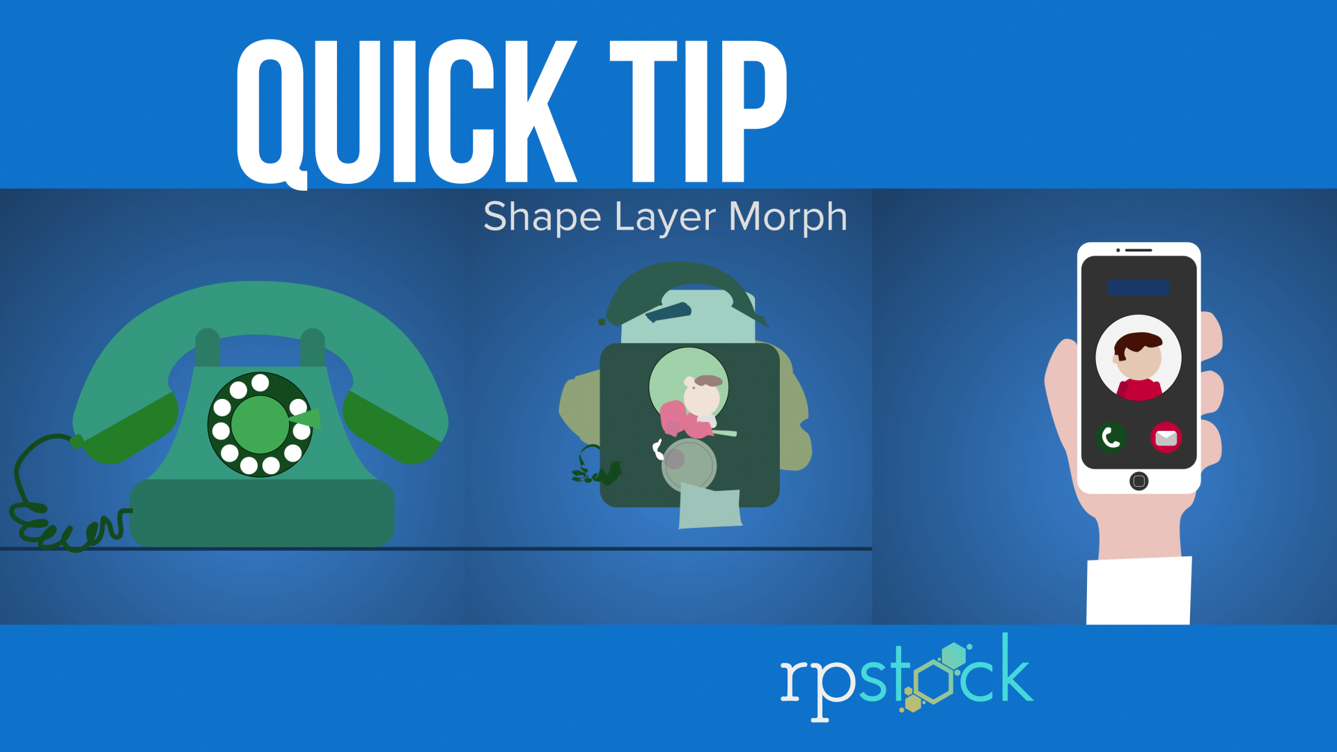 Quick Tip: Learn How to Morph Shape Layers in AE | RP Stock