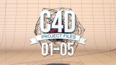 C4D Project Files 01-05