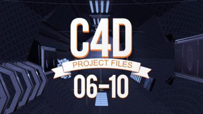 C4D Project Files 06-10